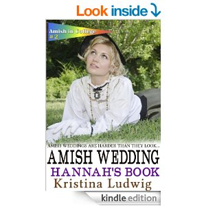 Amish Wedding: Hannah's Book