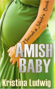 Here's the Amish Baby cover, designed by Antonio!