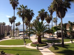 A shot of our resort at Estero Beach in Ensenada